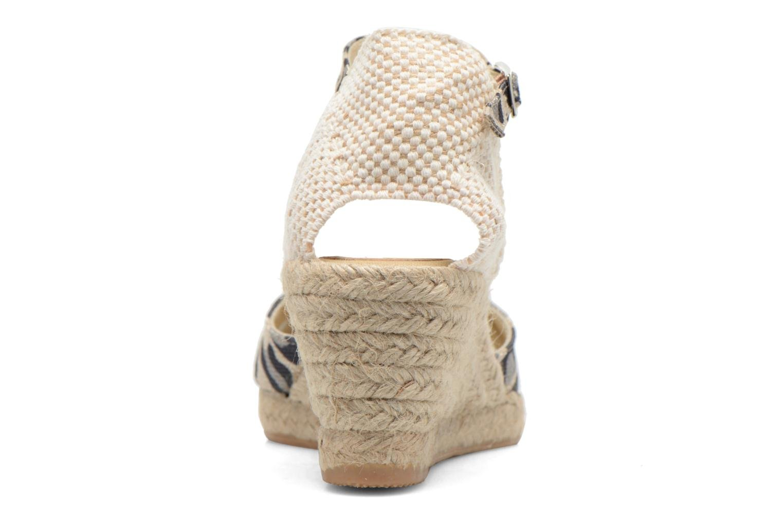 Sandali e scarpe aperte Elizabeth Stuart Trento 667 Marrone immagine destra