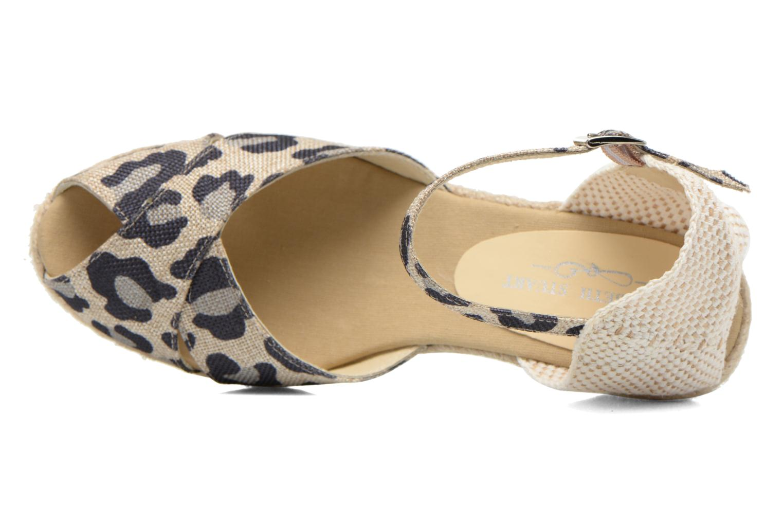 Sandali e scarpe aperte Elizabeth Stuart Trento 667 Marrone immagine sinistra