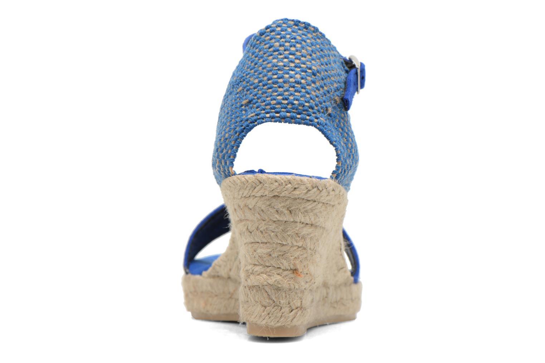 Sandales et nu-pieds Elizabeth Stuart Trevise/C 630 Bleu vue droite