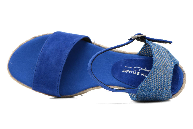 Sandales et nu-pieds Elizabeth Stuart Trevise/C 630 Bleu vue gauche