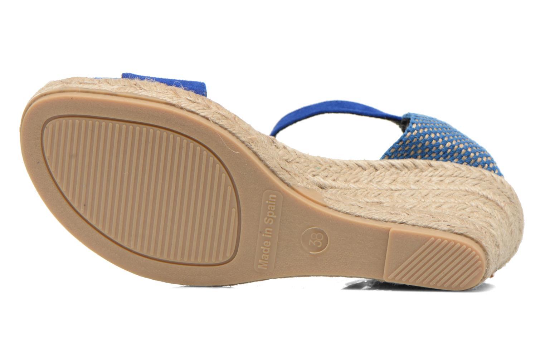 Sandales et nu-pieds Elizabeth Stuart Trevise/C 630 Bleu vue haut
