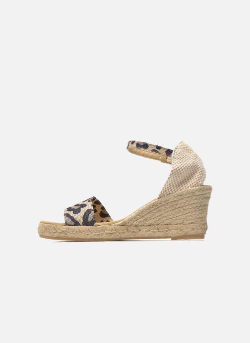 Sandales et nu-pieds Elizabeth Stuart TreviseC 667 Beige vue face