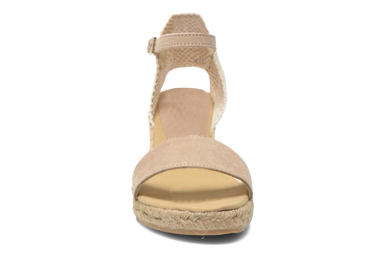 Sandalen Elizabeth Stuart TreviseC 667 beige schuhe getragen