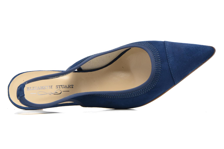 Escarpins Elizabeth Stuart Raval 300 Bleu vue gauche