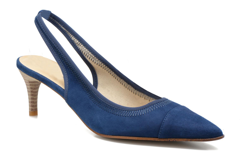 Escarpins Elizabeth Stuart Raval 300 Bleu vue détail/paire
