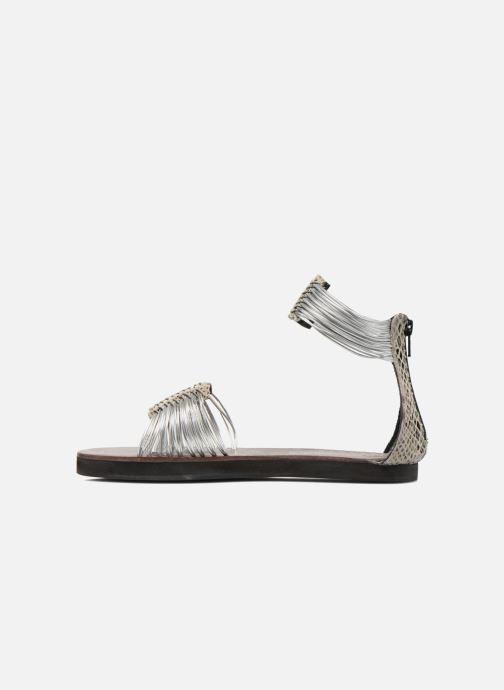 Sandales et nu-pieds Elizabeth Stuart Pexy 871 Gris vue face