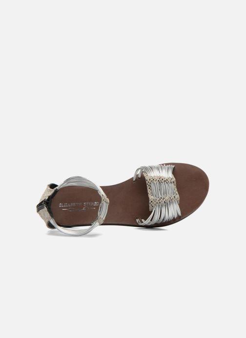 Sandales et nu-pieds Elizabeth Stuart Pexy 871 Gris vue gauche
