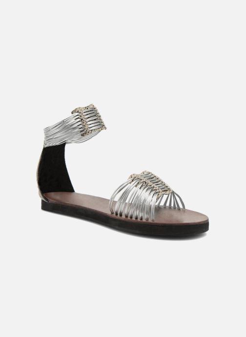 Sandales et nu-pieds Elizabeth Stuart Pexy 871 Gris vue détail/paire