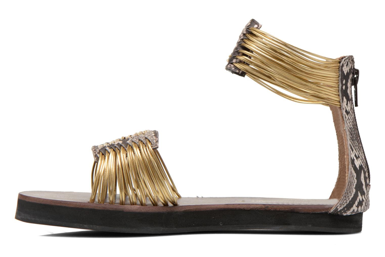 Sandales et nu-pieds Elizabeth Stuart Pexy 871 Or et bronze vue face