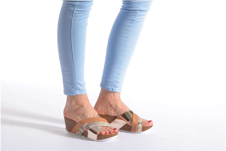 Sandali e scarpe aperte Elizabeth Stuart Yaris 882 Bianco immagine dal basso