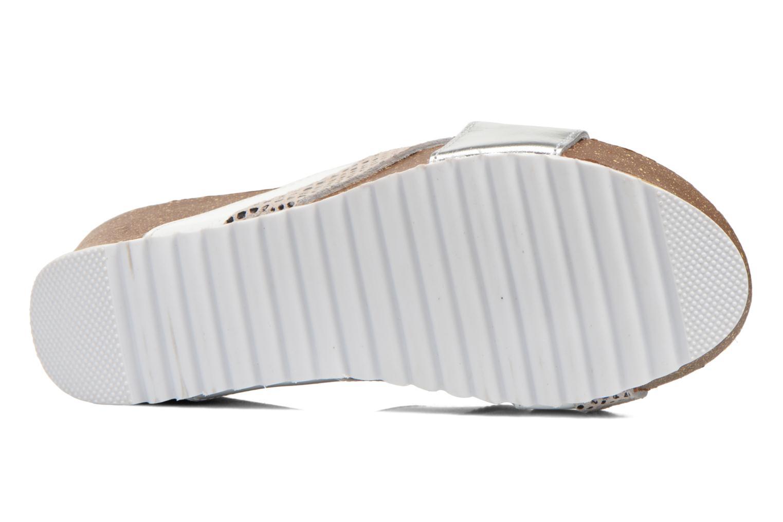 Sandali e scarpe aperte Elizabeth Stuart Yaris 882 Bianco immagine dall'alto