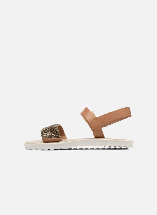 Sandales et nu-pieds Elizabeth Stuart Palais 875 Marron vue face