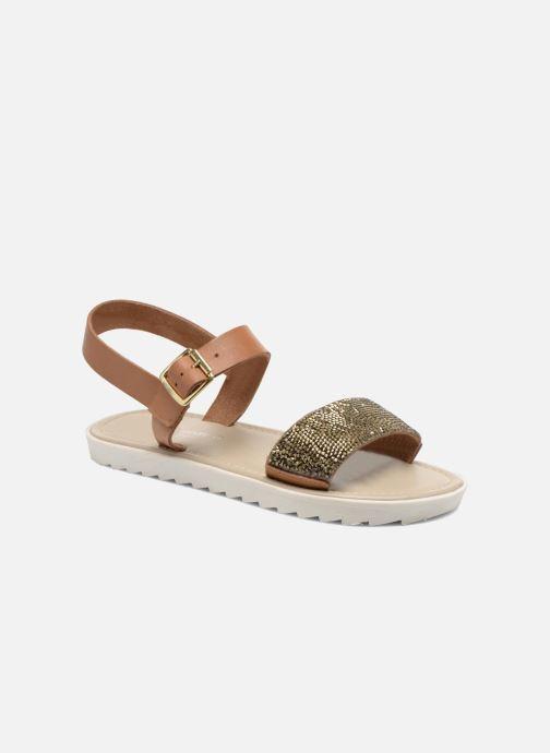 Sandales et nu-pieds Elizabeth Stuart Palais 875 Marron vue détail/paire