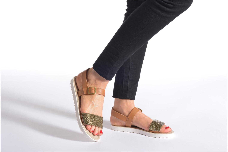 Sandales et nu-pieds Elizabeth Stuart Palais 875 Noir vue bas / vue portée sac