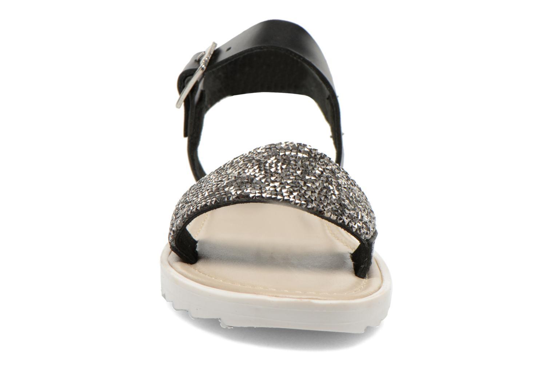 Sandales et nu-pieds Elizabeth Stuart Palais 875 Noir vue portées chaussures