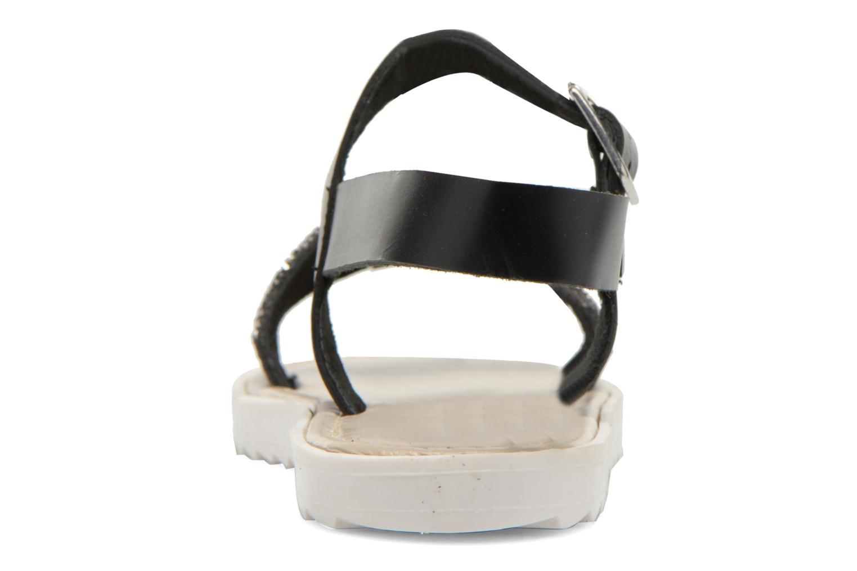 Sandales et nu-pieds Elizabeth Stuart Palais 875 Noir vue droite