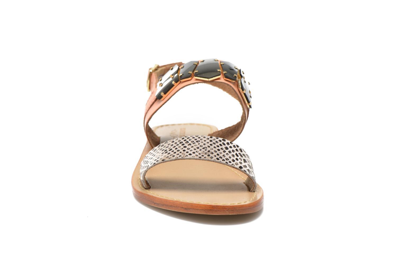 Sandales et nu-pieds Elizabeth Stuart Havanne 887 Rose vue portées chaussures