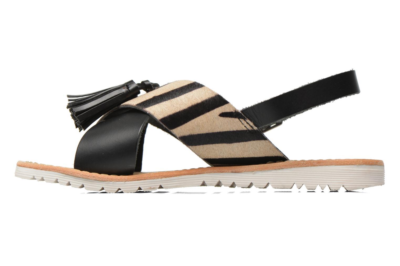 Sandales et nu-pieds Elizabeth Stuart Polka 883 Noir vue face