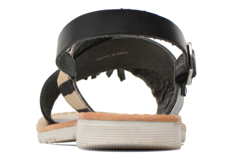 Sandales et nu-pieds Elizabeth Stuart Polka 883 Noir vue droite