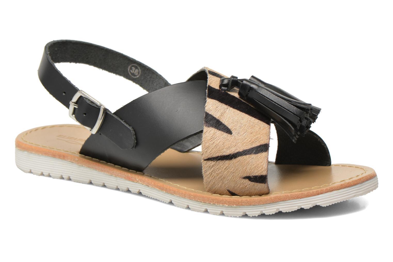 Sandales et nu-pieds Elizabeth Stuart Polka 883 Noir vue détail/paire