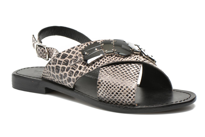 Sandales et nu-pieds Elizabeth Stuart Halias 889 Gris vue détail/paire
