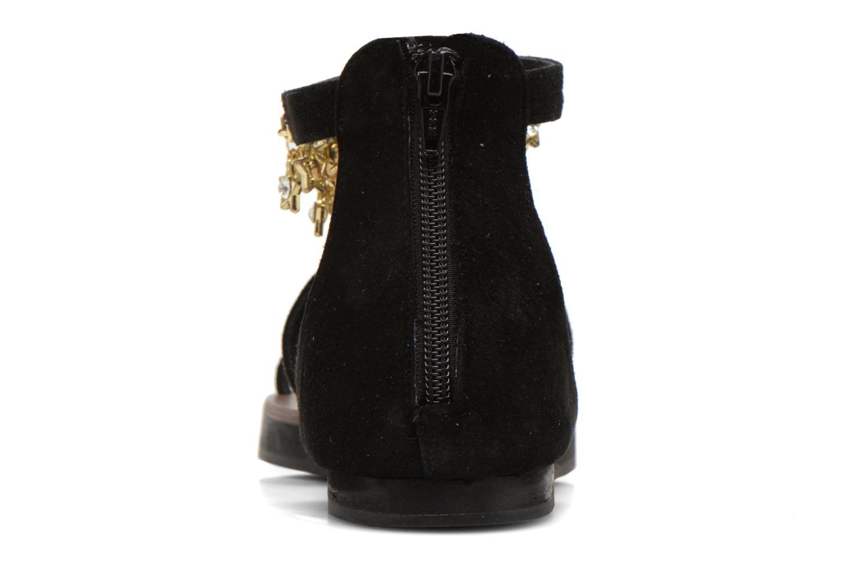 Sandales et nu-pieds Elizabeth Stuart Peps 606 Noir vue droite