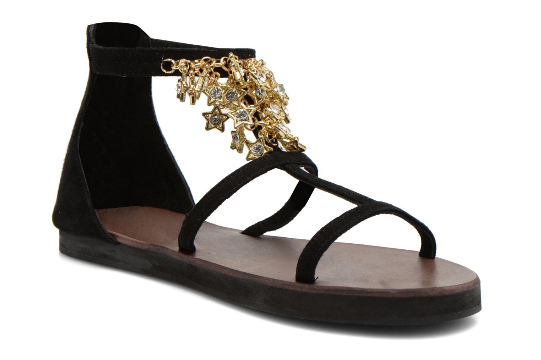 Sandales et nu-pieds Elizabeth Stuart Peps 606 Noir vue détail/paire