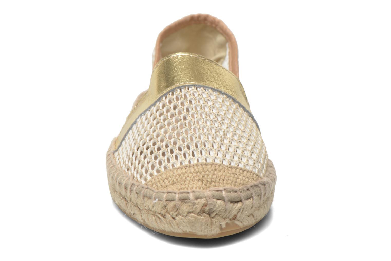 Espadrilles Elizabeth Stuart Noumea 864 Beige vue portées chaussures