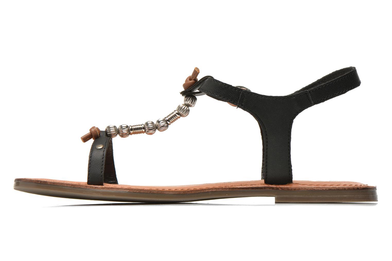 Sandales et nu-pieds Tamaris Famala Noir vue face