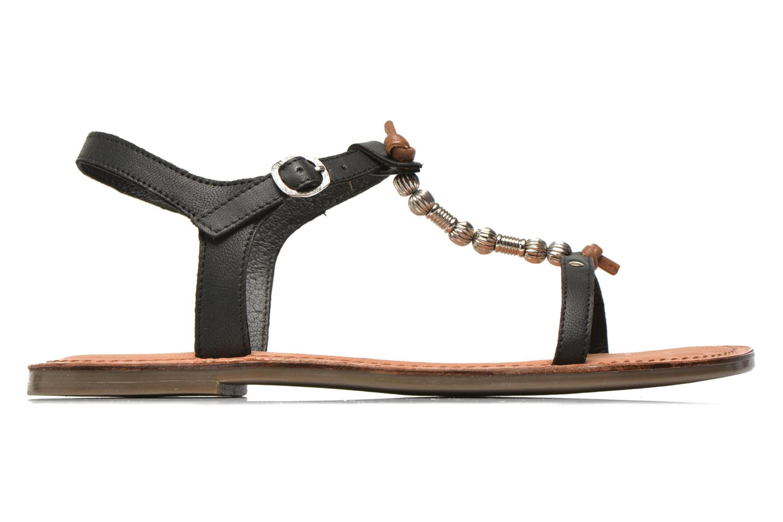 Sandales et nu-pieds Tamaris Famala Noir vue derrière