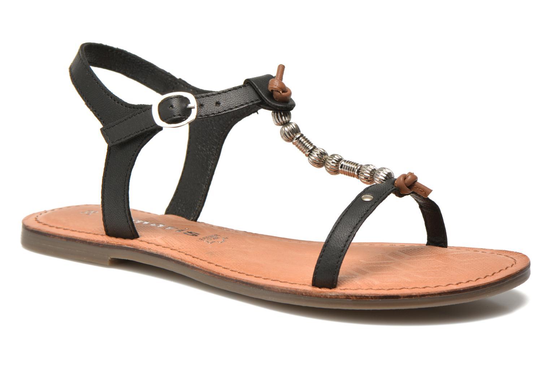 Sandales et nu-pieds Tamaris Famala Noir vue détail/paire