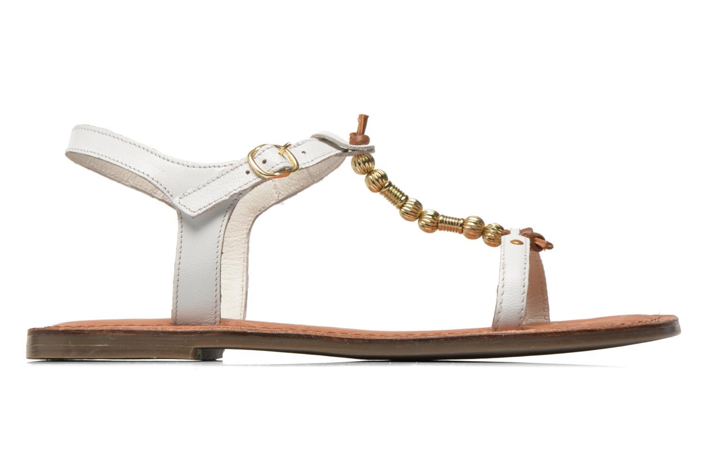 Sandales et nu-pieds Tamaris Famala Blanc vue derrière