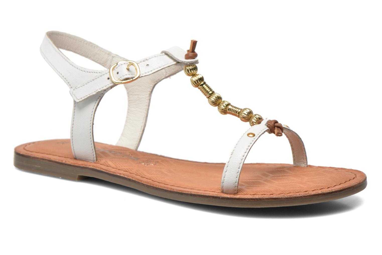Sandales et nu-pieds Tamaris Famala Blanc vue détail/paire