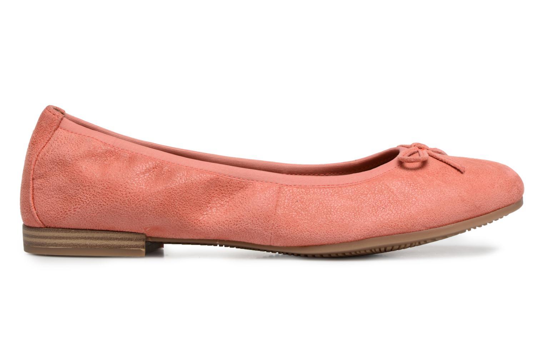 Ballerina's Tamaris Tolama Roze achterkant