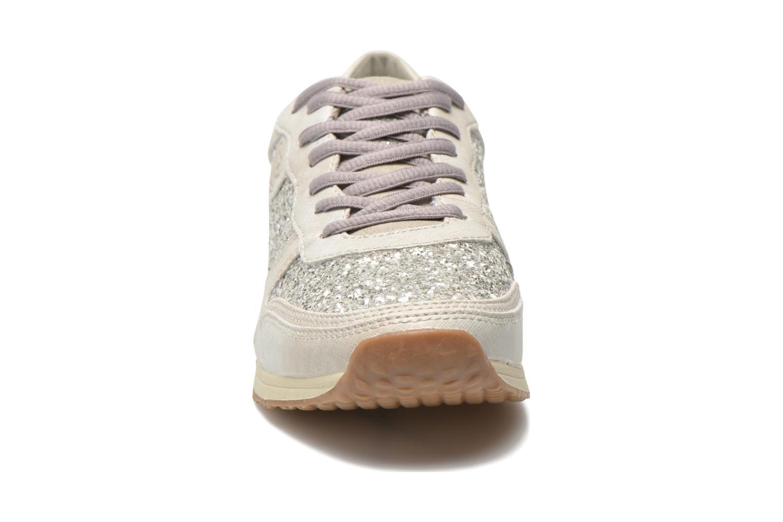 Baskets Tamaris Bifina Argent vue portées chaussures