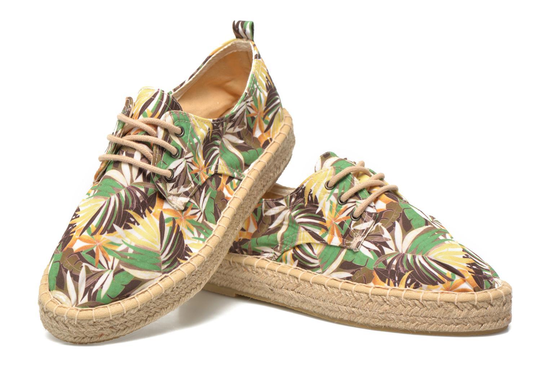 Chaussures à lacets Tamaris Glorira Vert vue 3/4