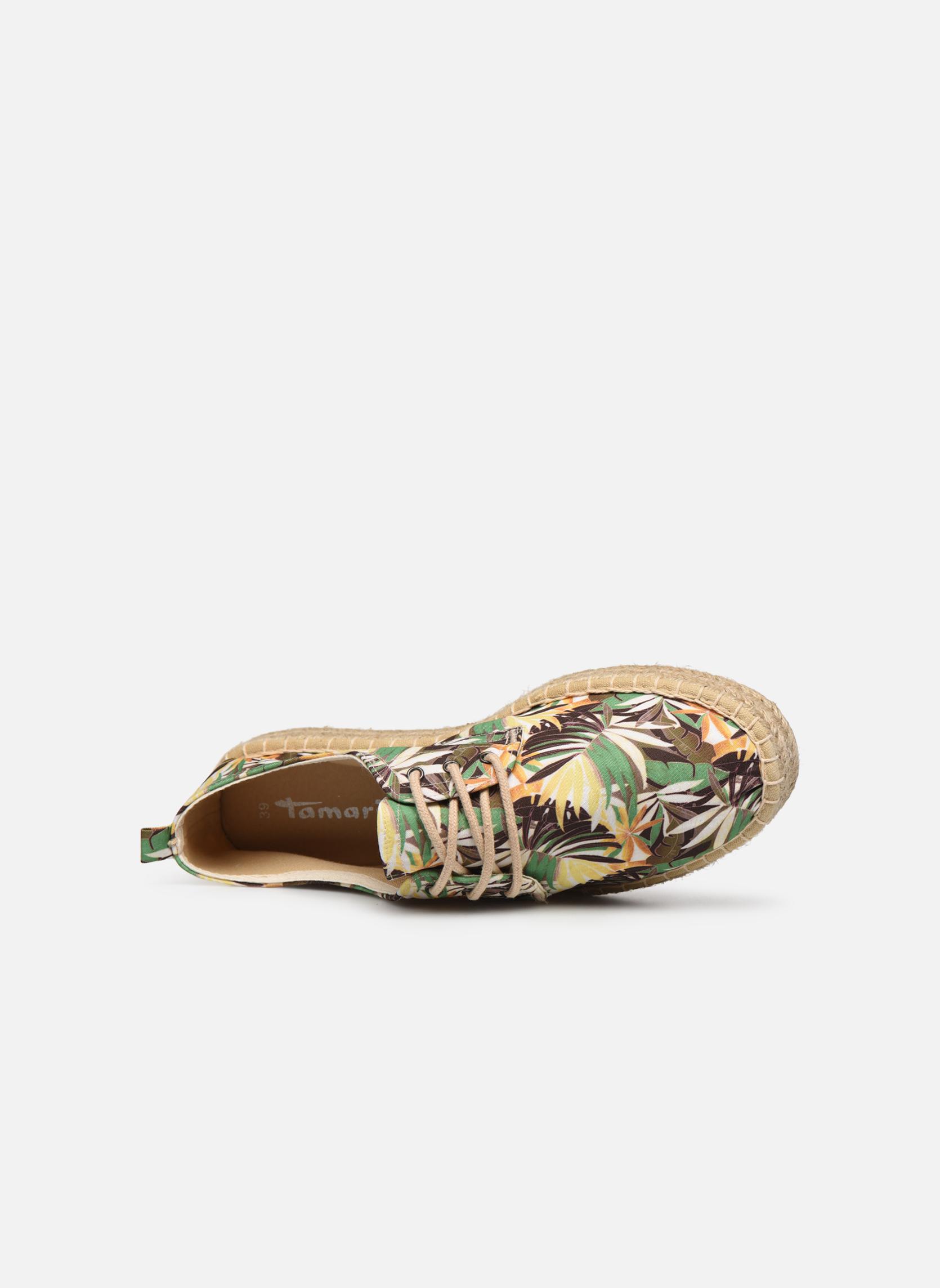 Chaussures à lacets Tamaris Glorira Vert vue gauche