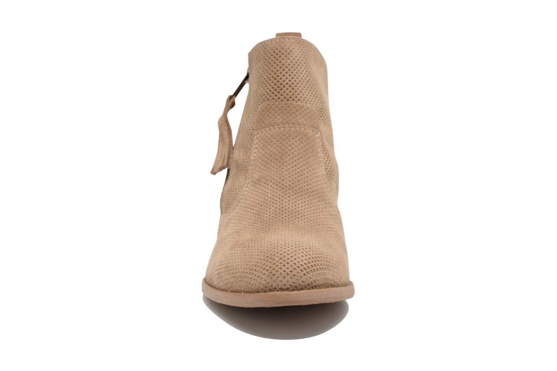 Bottines et boots Tamaris Bahova Beige vue portées chaussures