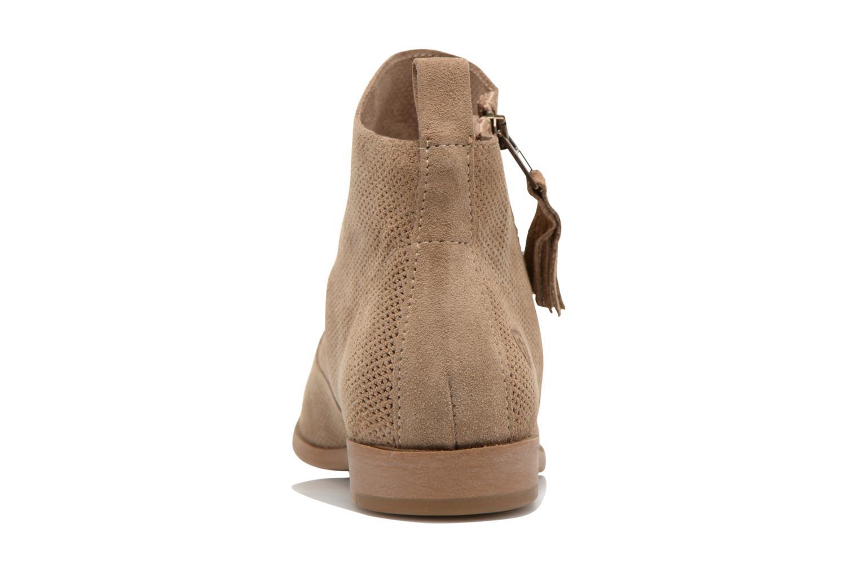 Bottines et boots Tamaris Bahova Beige vue droite