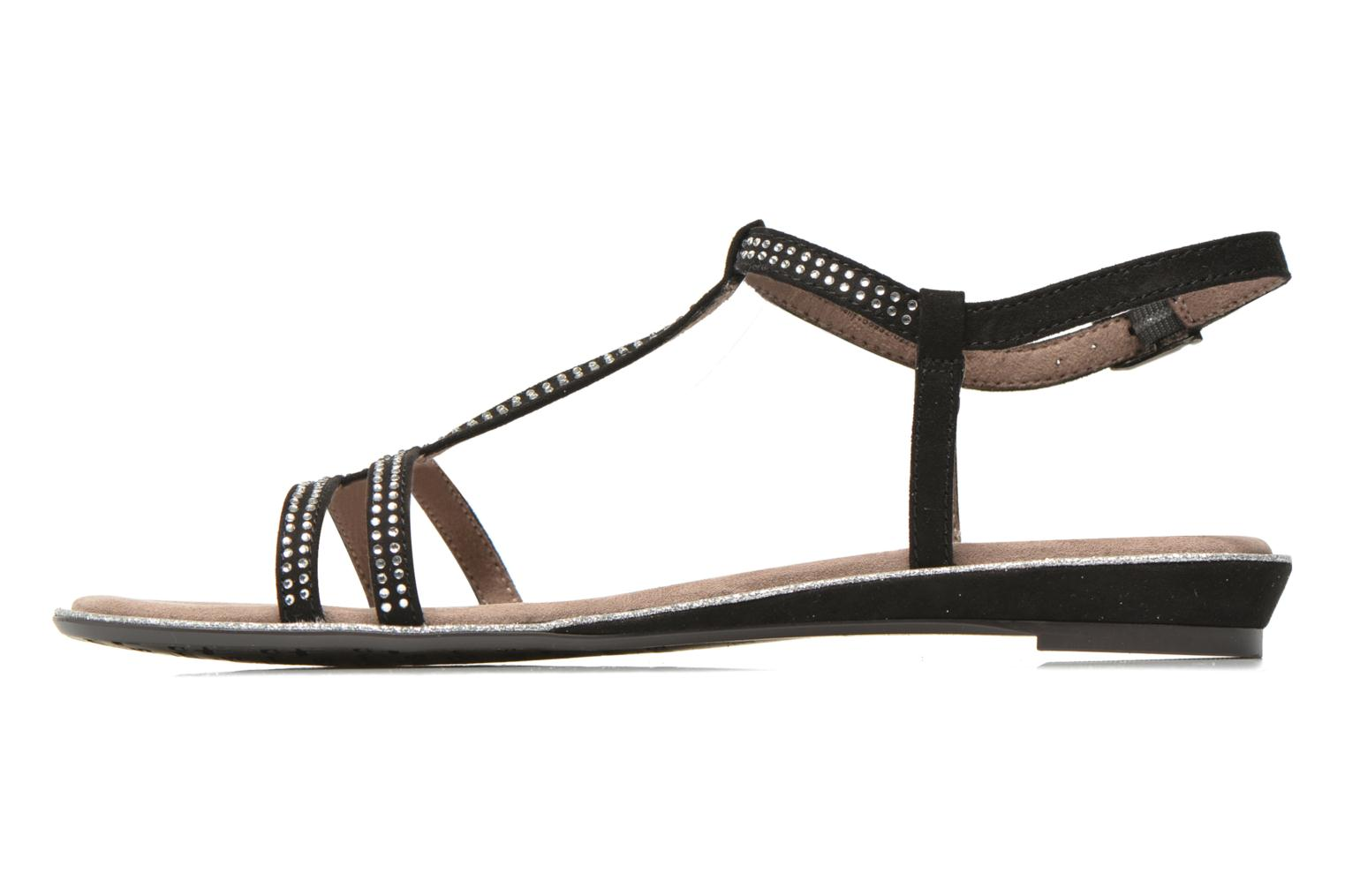 Sandals Tamaris Lubela Black front view