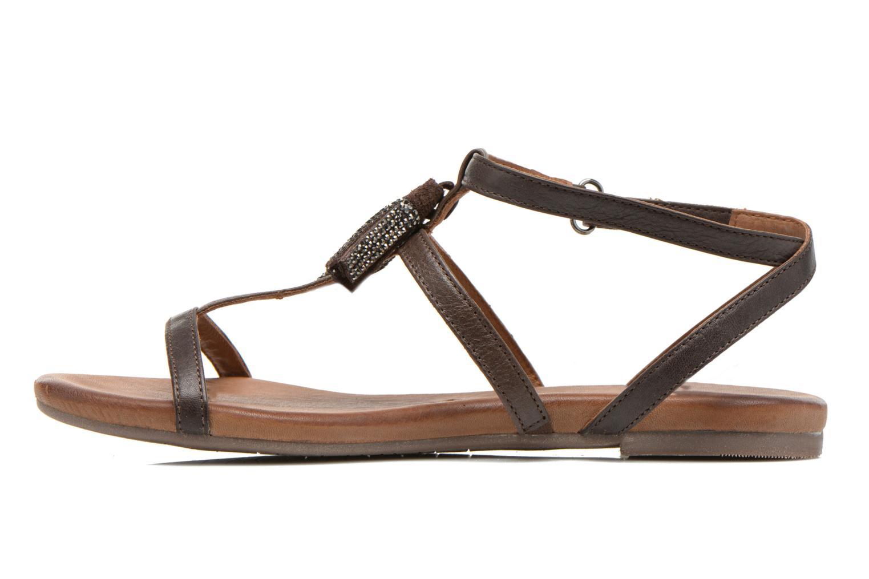 Sandales et nu-pieds Tamaris Arava Marron vue face