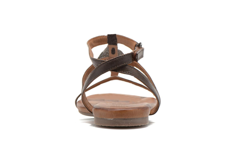 Sandales et nu-pieds Tamaris Arava Marron vue droite