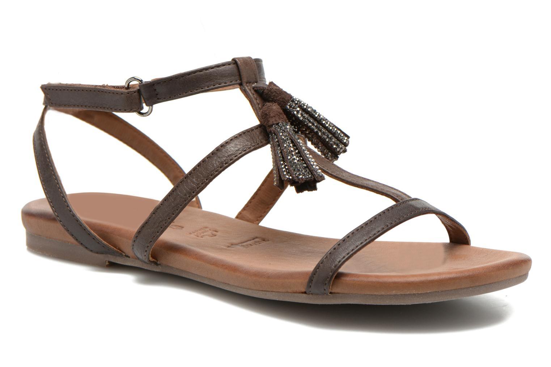 Sandales et nu-pieds Tamaris Arava Marron vue détail/paire