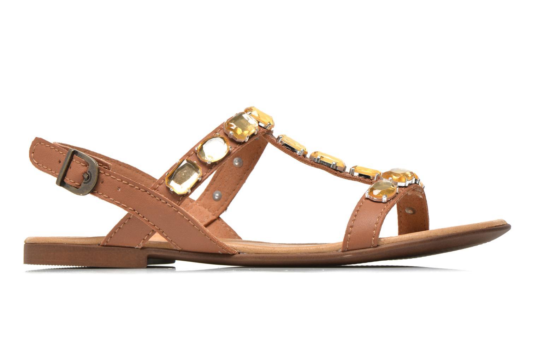 Sandales et nu-pieds Tamaris Turana Marron vue derrière