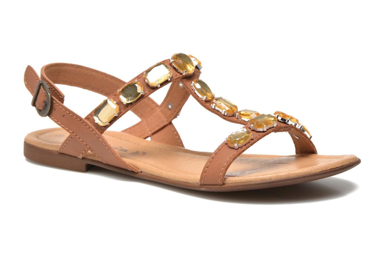 Sandales et nu-pieds Tamaris Turana Marron vue détail/paire