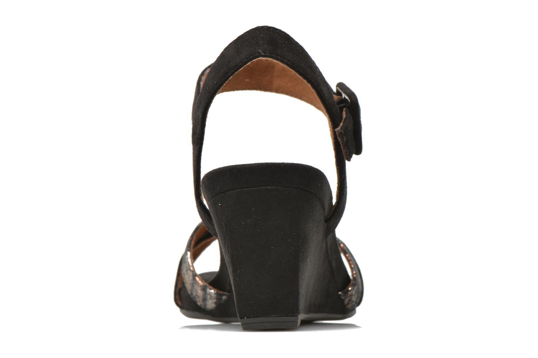 Sandales et nu-pieds Tamaris Covuja Noir vue droite