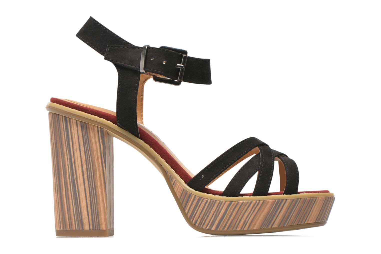 Sandales et nu-pieds Tamaris Atraba Noir vue derrière