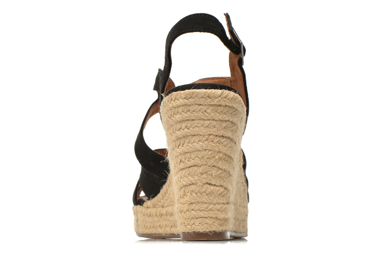Sandales et nu-pieds Tamaris Pobafu Noir vue droite