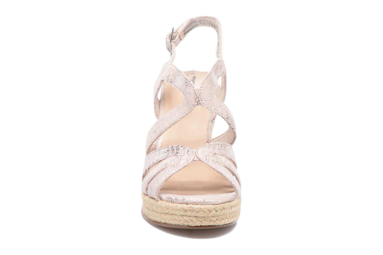 Sandales et nu-pieds Tamaris Pobafu Rose vue portées chaussures