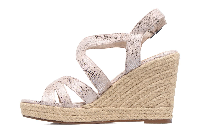 Sandales et nu-pieds Tamaris Pobafu Rose vue face